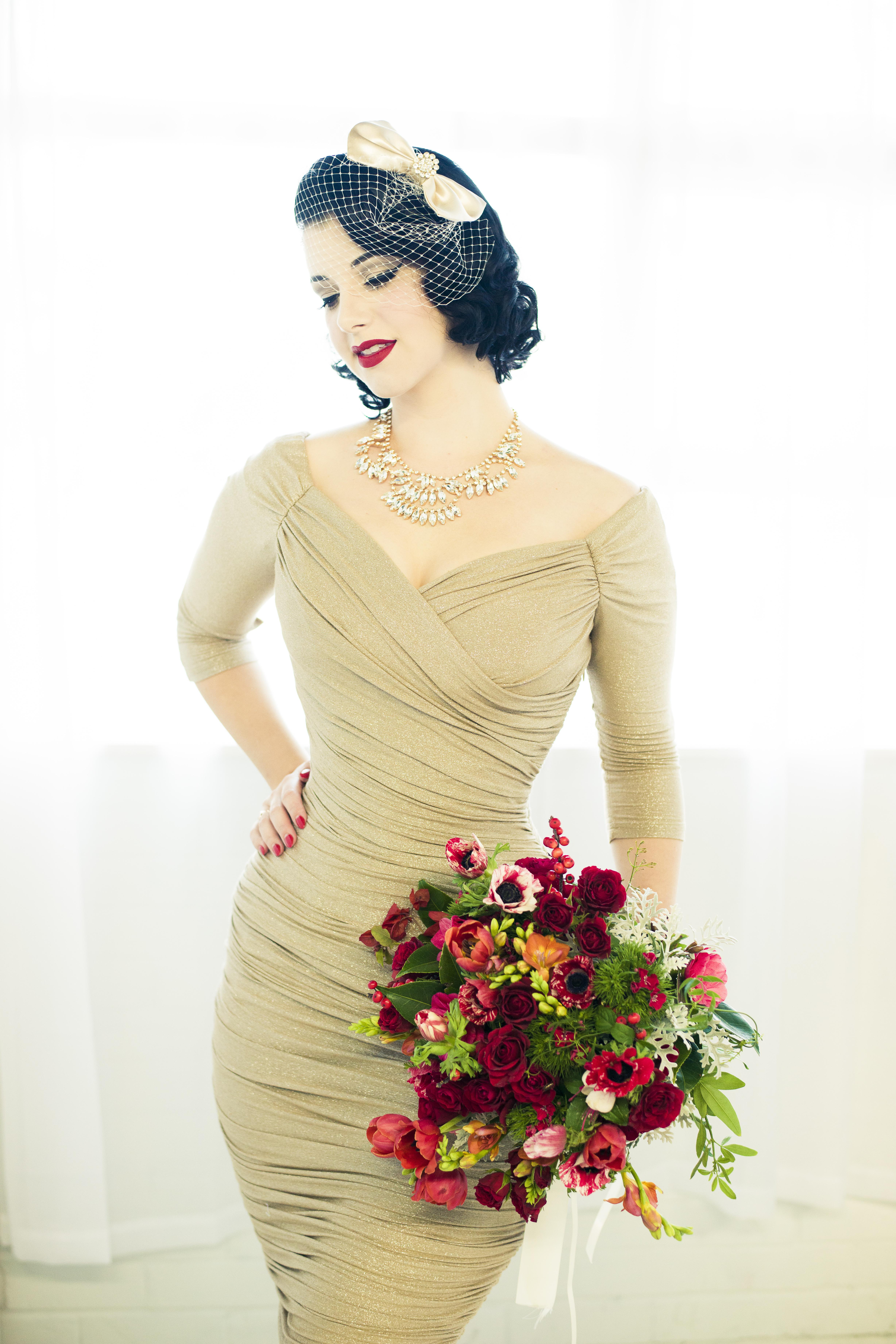 Pin Up Bridesmaid Dresses