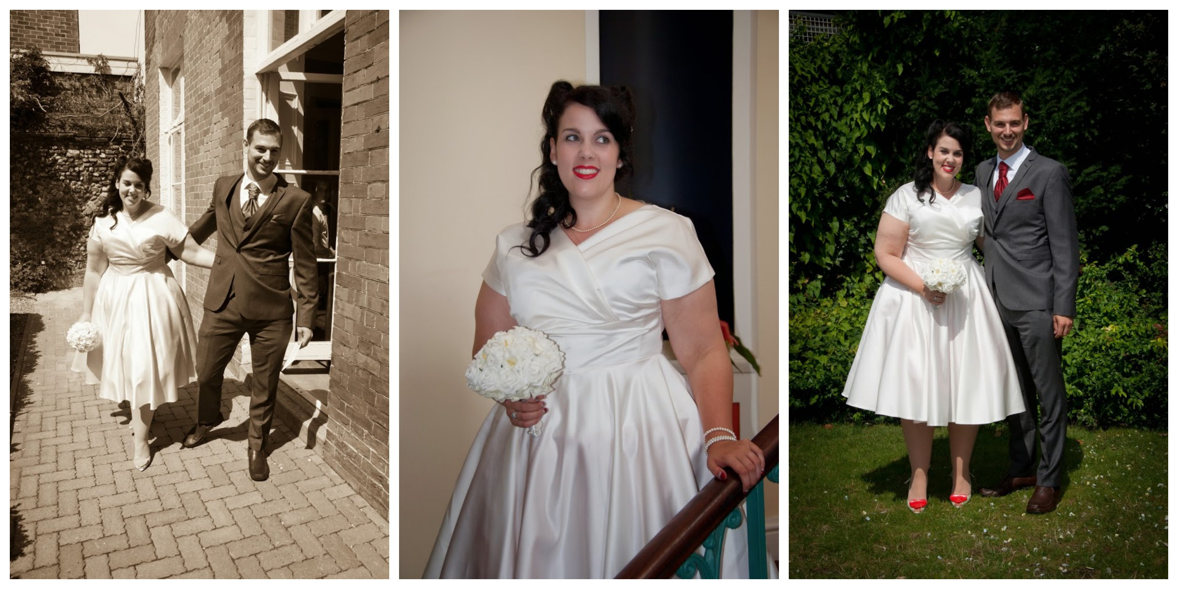 A Very Vintage Wedding Dress- Part Three - Miss Victory Violet