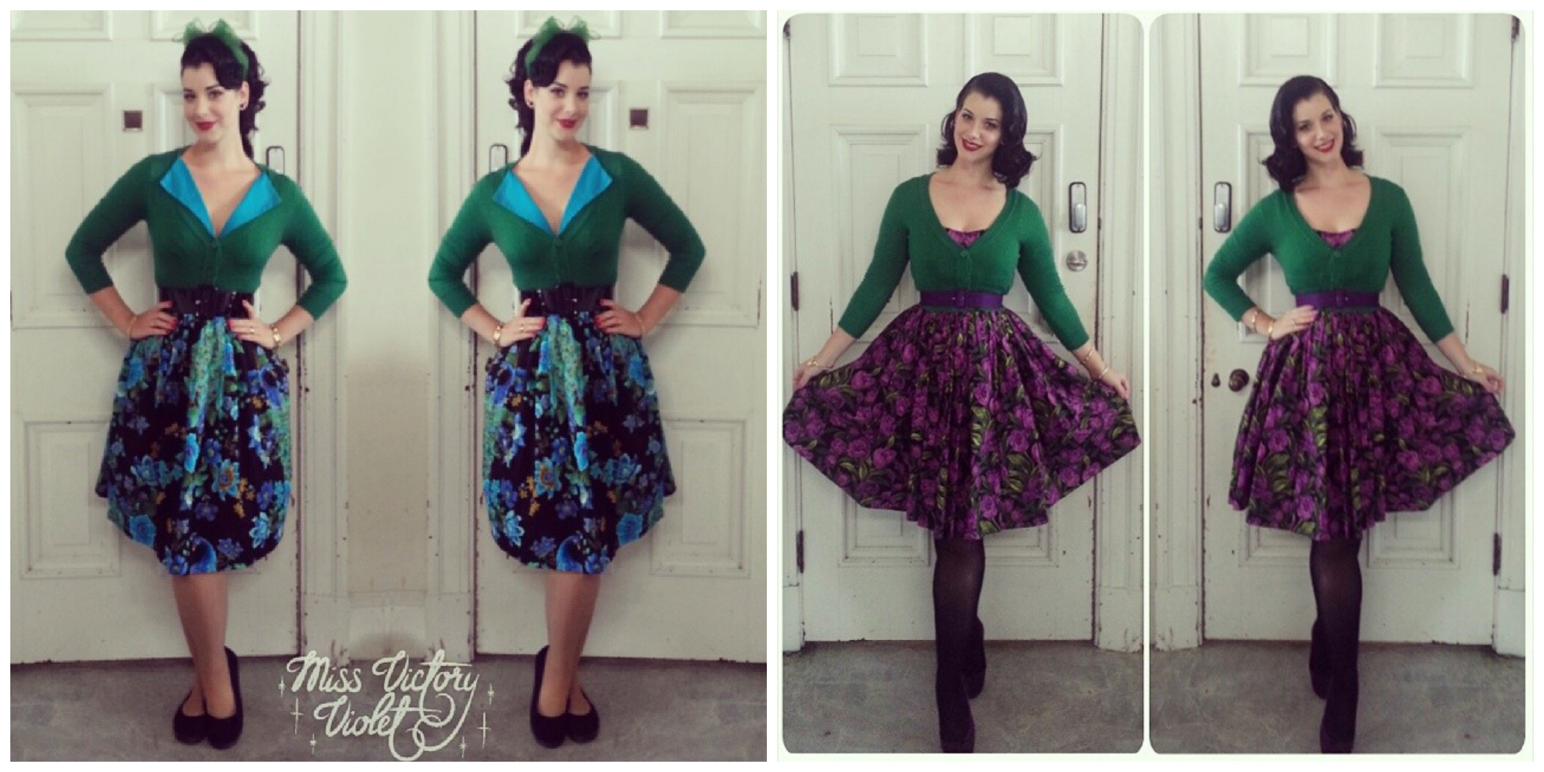 My Cropped Cardigan Obsession! - Miss Victory Violet