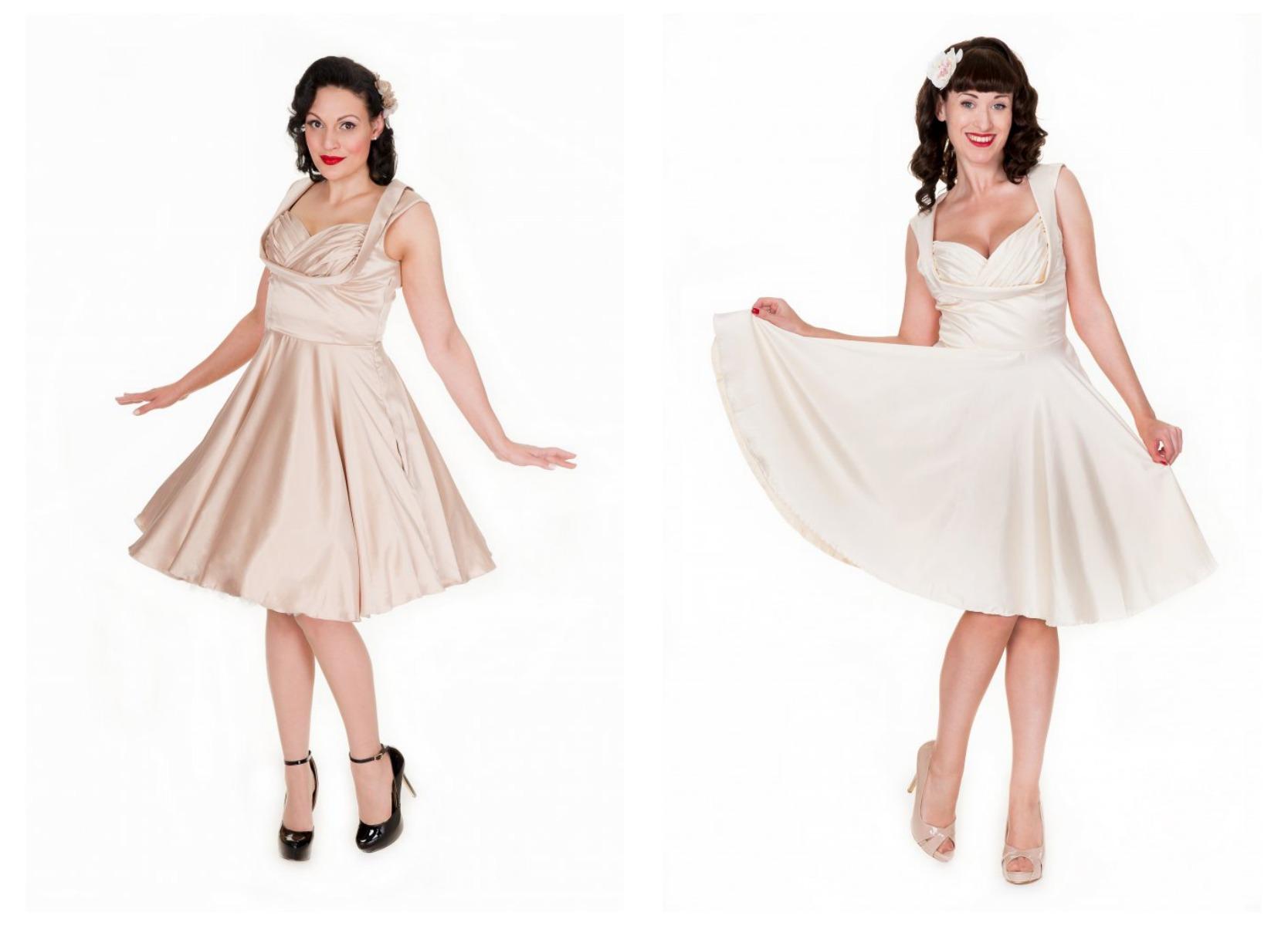 A very vintage wedding dress part three miss victory violet for Lindy bop wedding dress