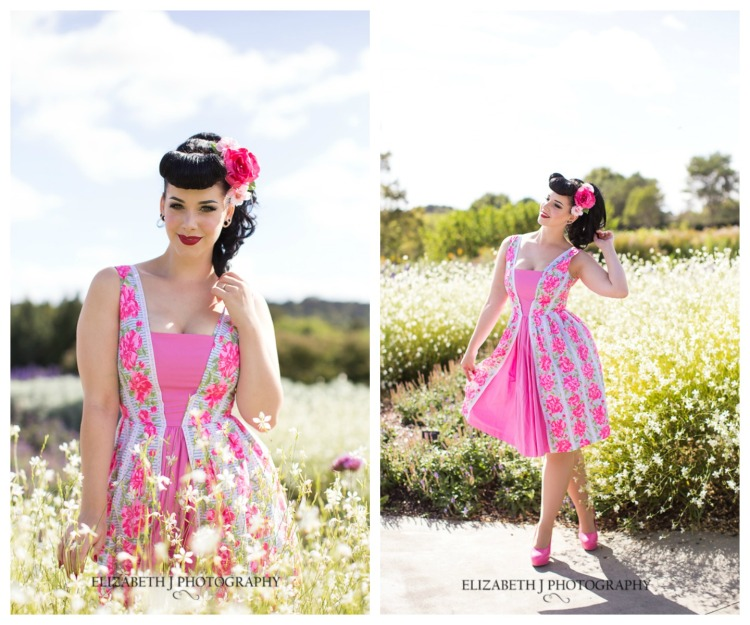 Miss Victory Violet/ Doris Dress