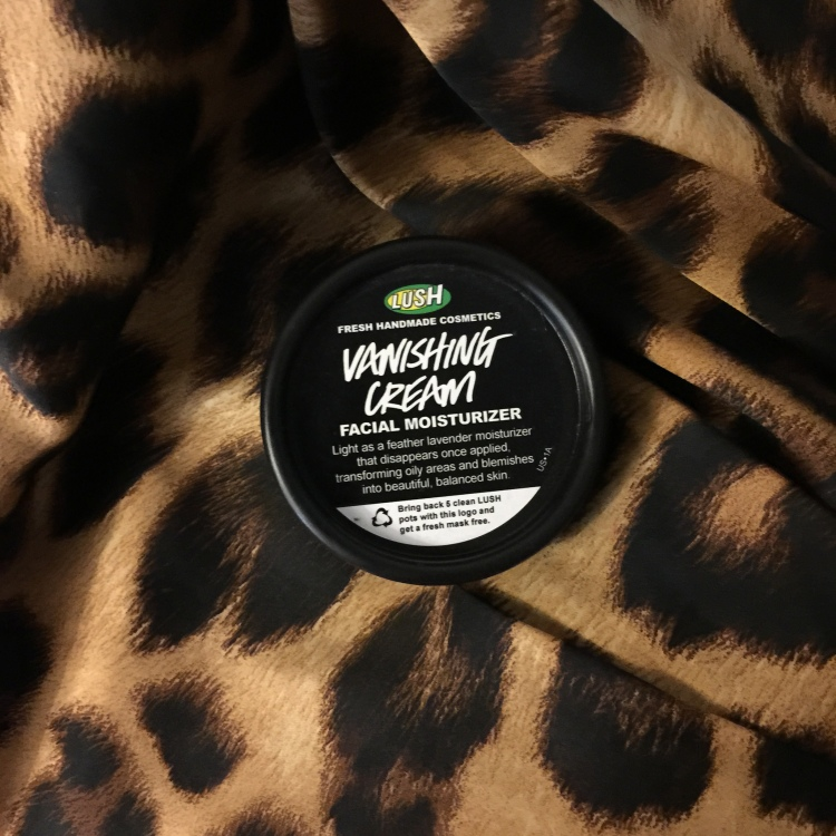 LUSH Vanishing Cream