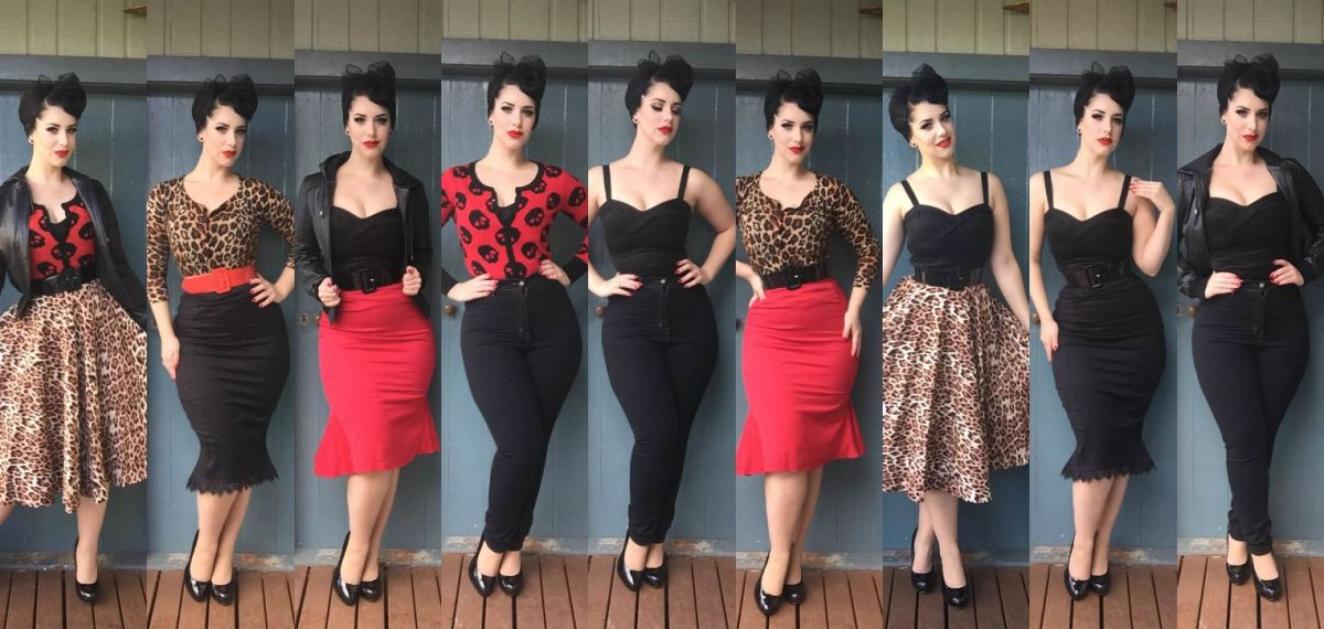 10 items 26 outfits rockabilly style miss victory violet for Rockabilly outfit damen