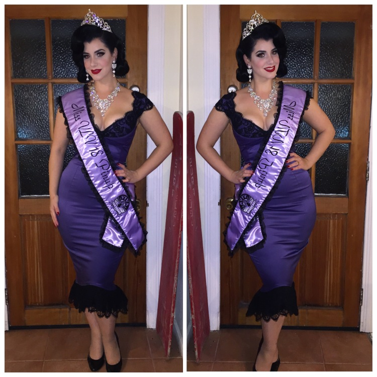 Miss Victory Violet